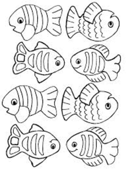 Fish coloring #6, Download drawings