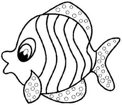 Fish coloring #14, Download drawings