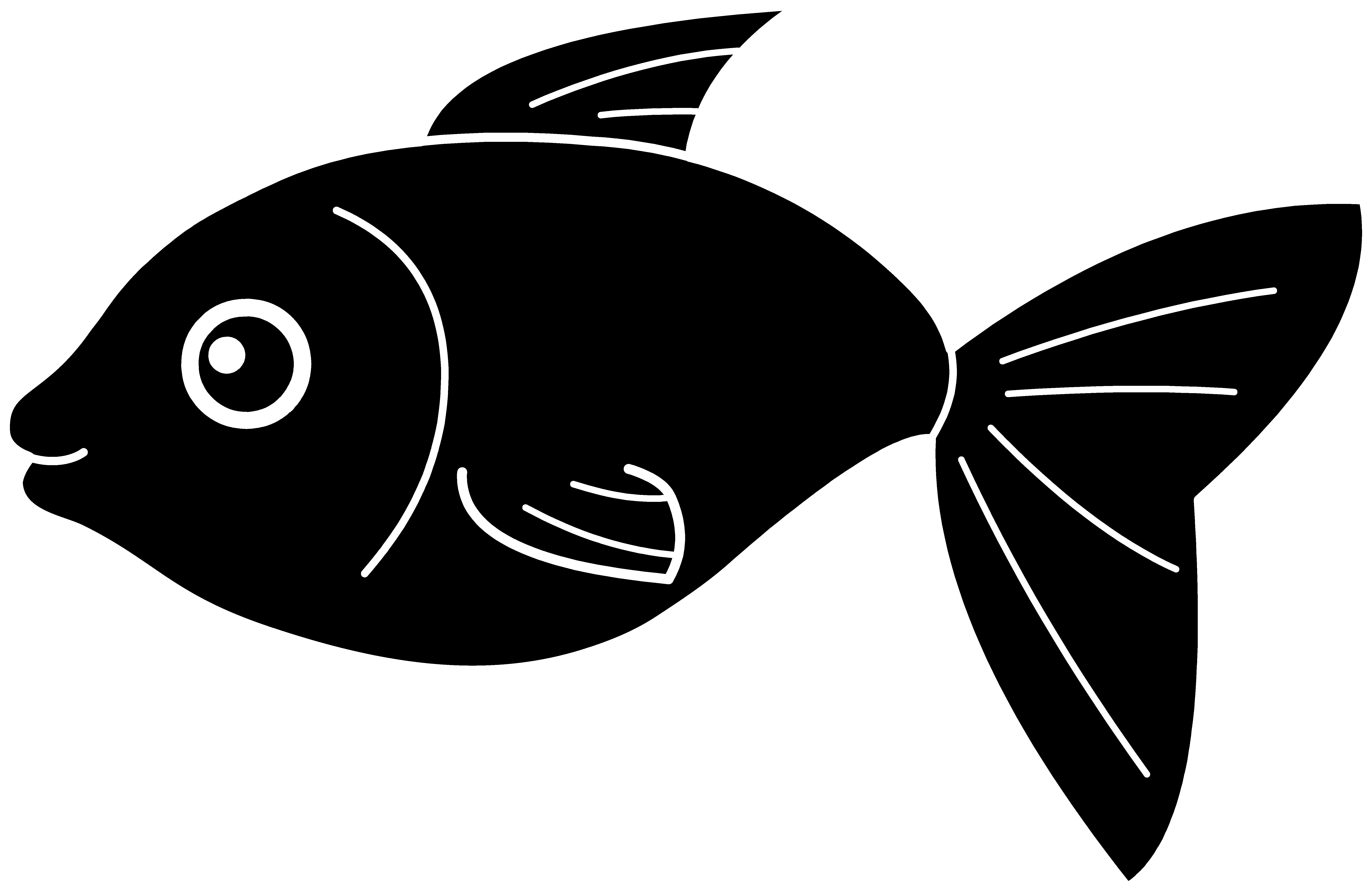 fish silhouette svg #467, Download drawings