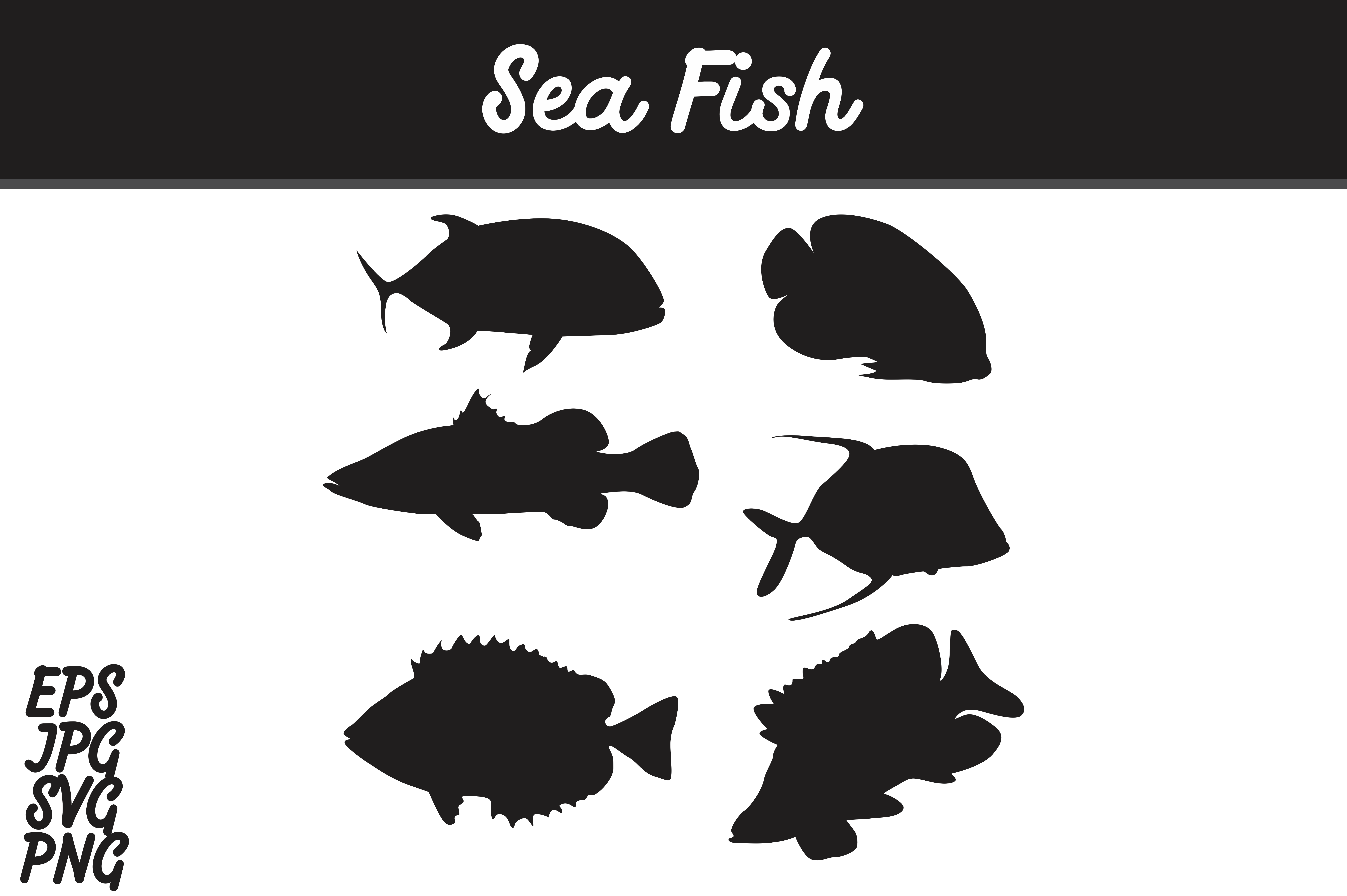 fish silhouette svg #466, Download drawings