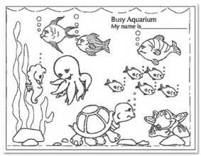 Fishtank coloring #8, Download drawings