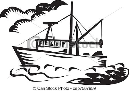 Fishing Boat clipart #2, Download drawings