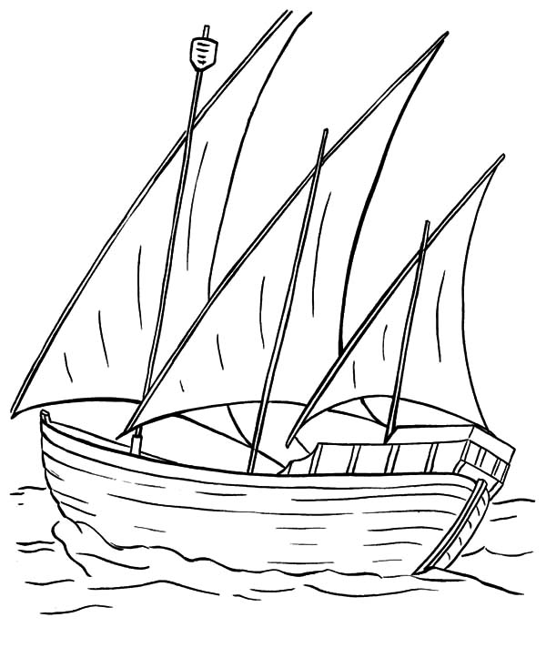 Sails coloring #9, Download drawings