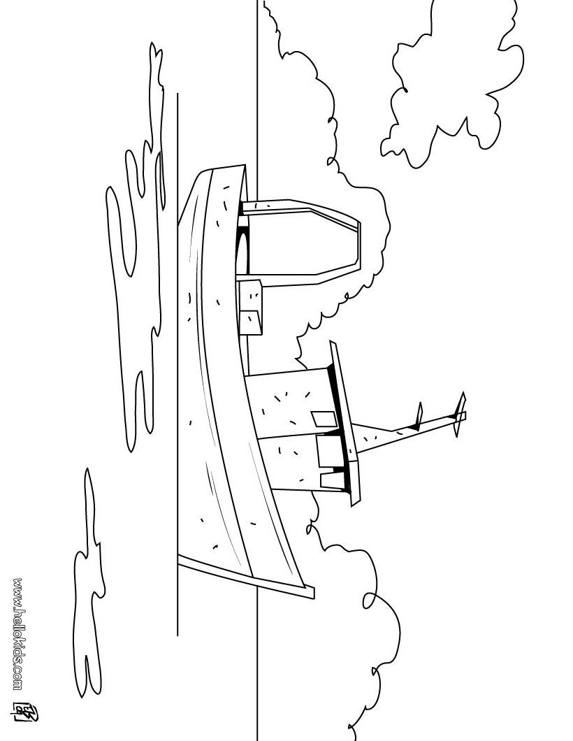 Fishing Boat coloring #3, Download drawings