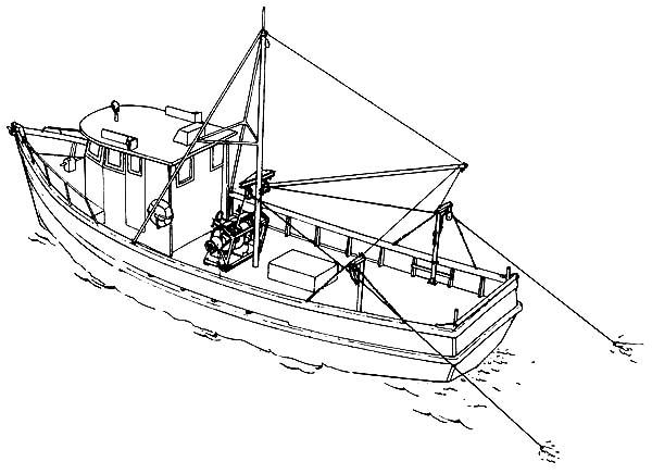 fishing boat coloring  download fishing boat coloring