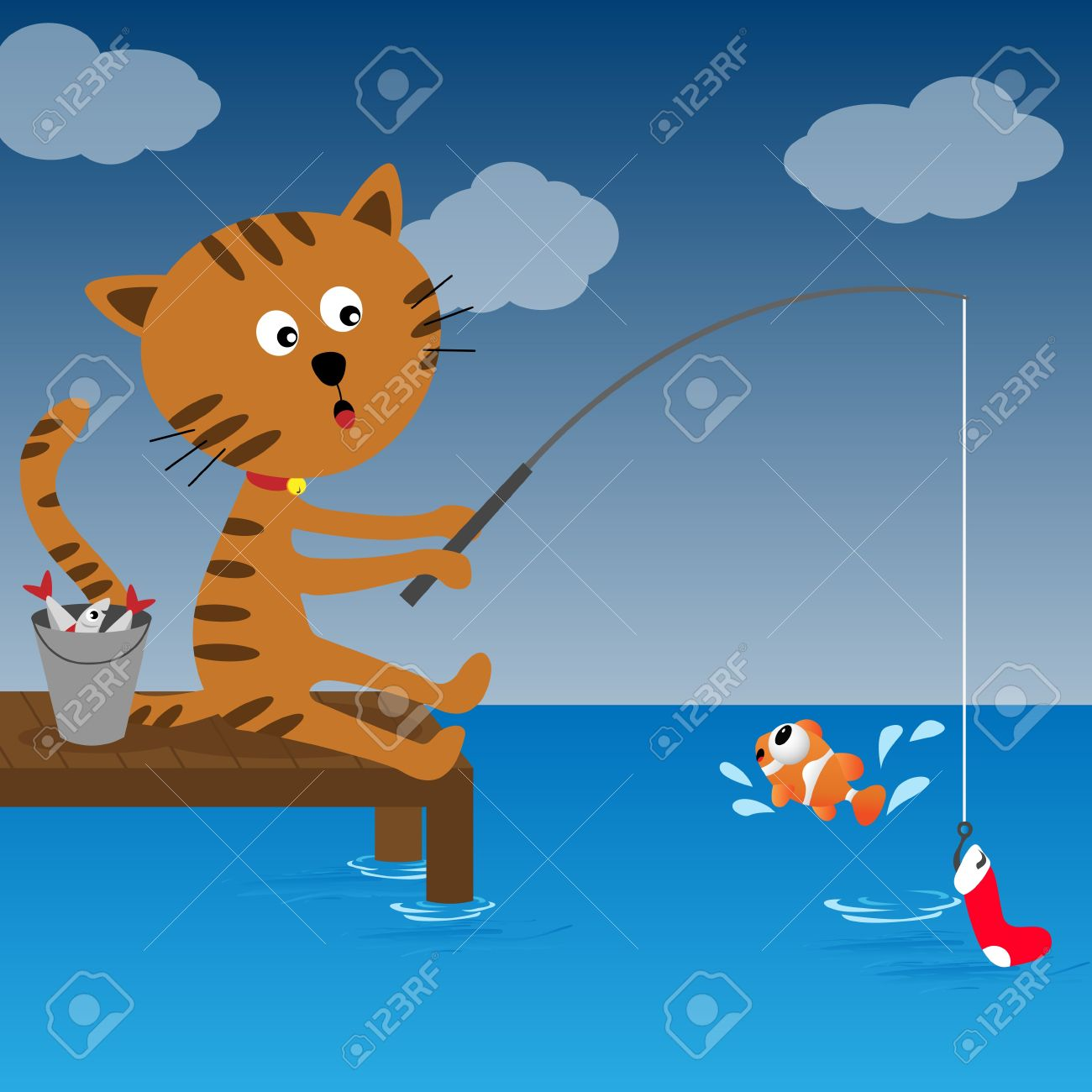 Fishing Cat clipart #16, Download drawings