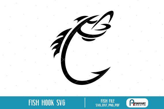 fishing hook svg #664, Download drawings
