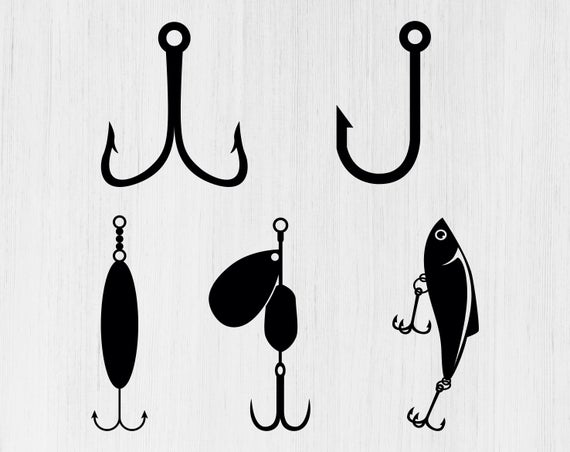 fishing lure svg #1123, Download drawings