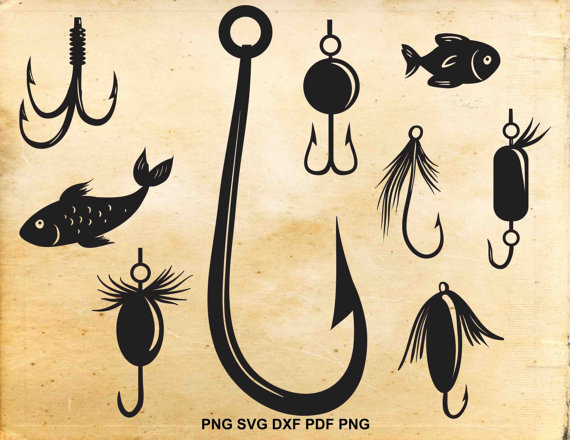 fishing lure svg #1129, Download drawings