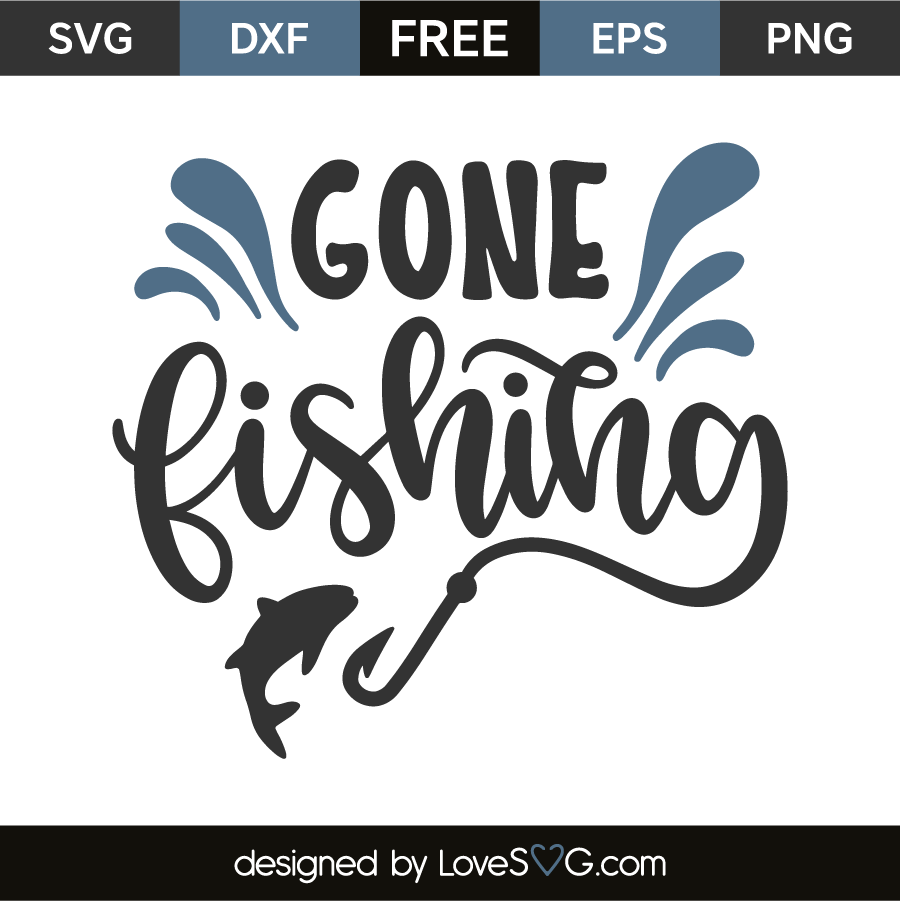 gone fishing svg #1231, Download drawings