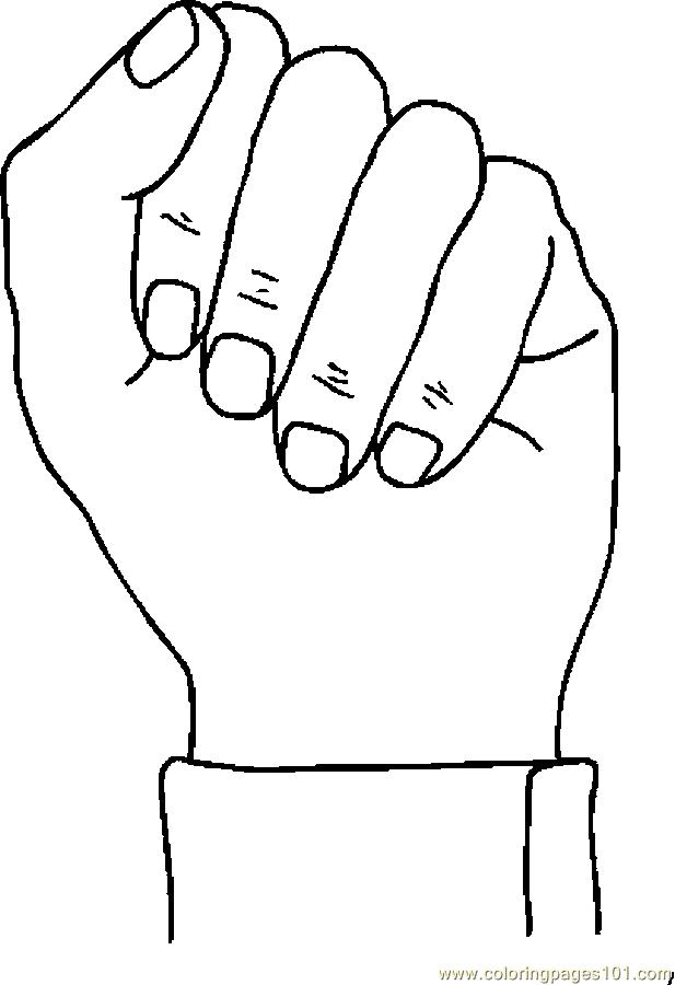 Fist coloring #11, Download drawings