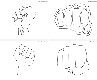 Fist coloring #16, Download drawings