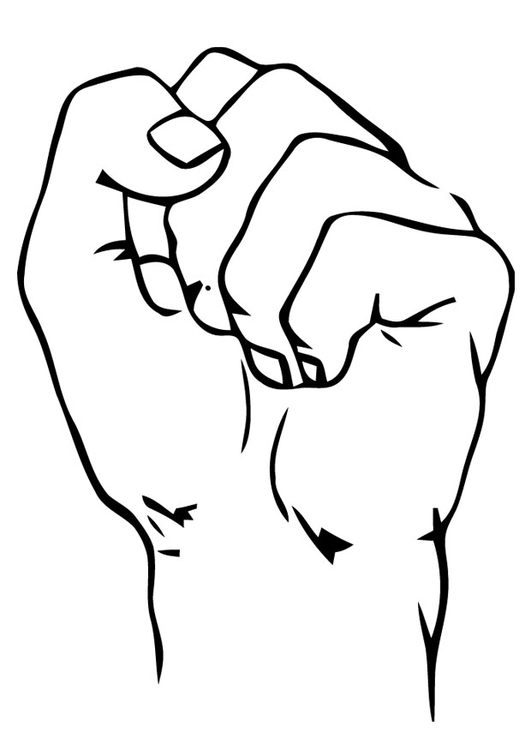 Fist coloring #9, Download drawings