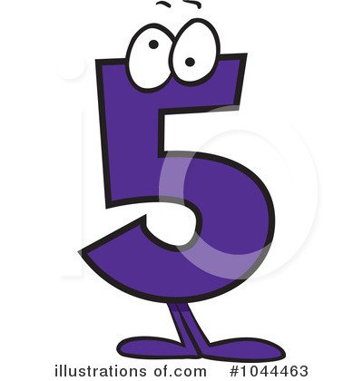 Five clipart #7, Download drawings