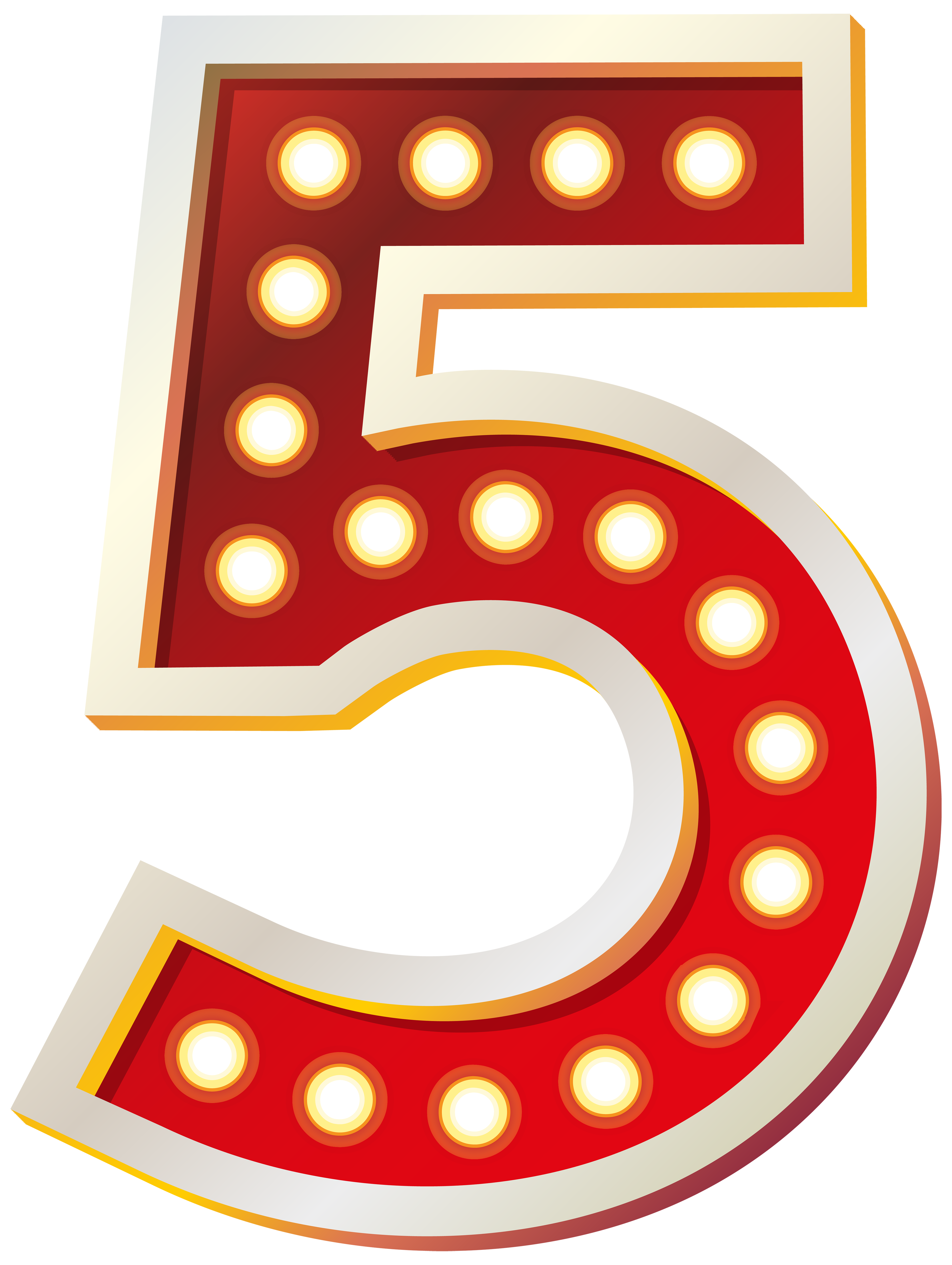 Five clipart #6, Download drawings