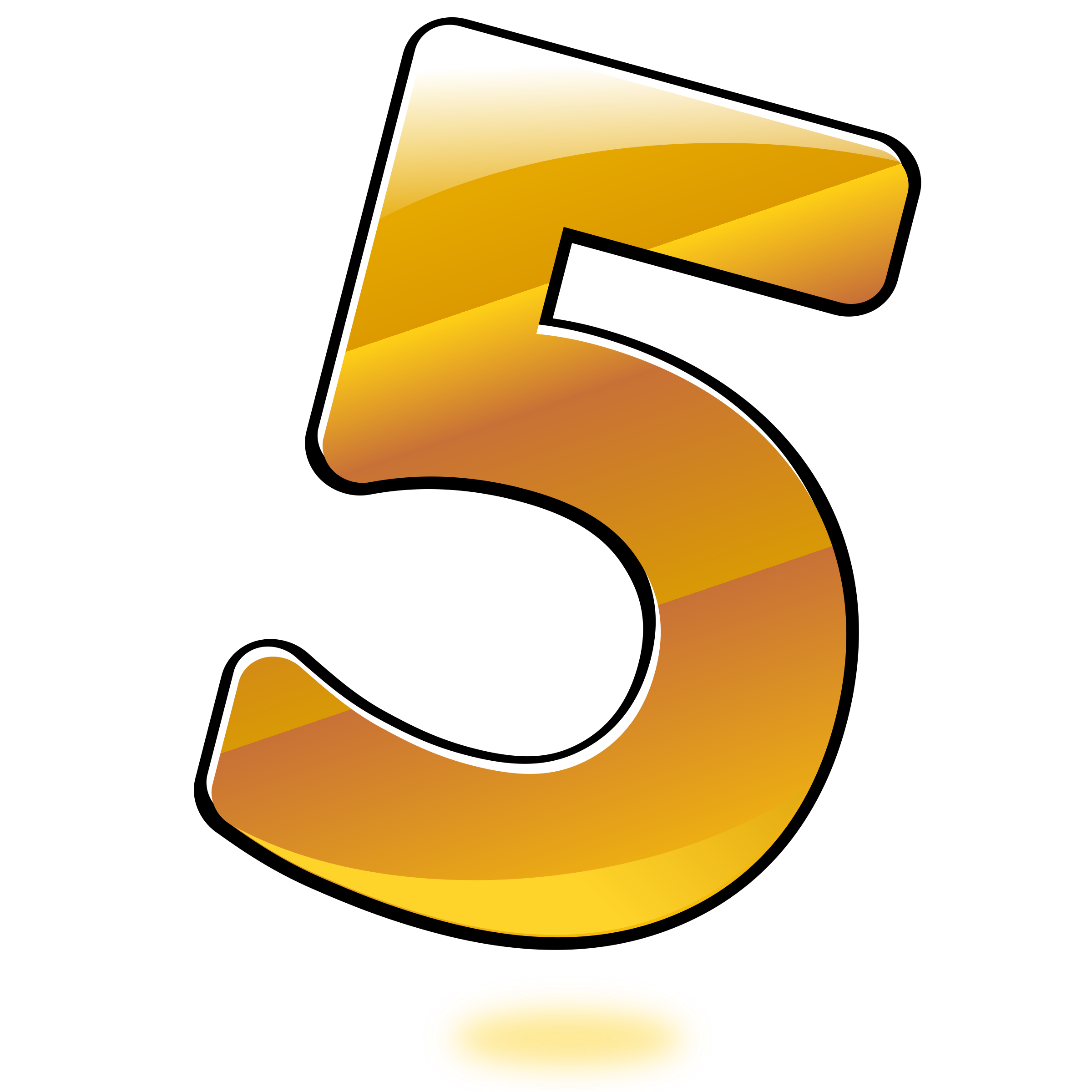 Five clipart #3, Download drawings