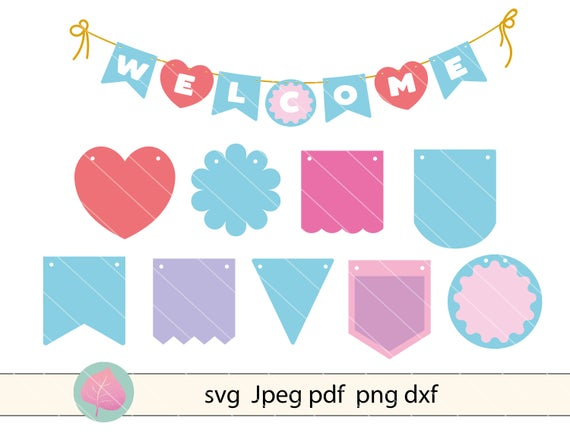 flag banner svg #958, Download drawings