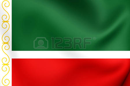 Flag Of Chechnya coloring #7, Download drawings