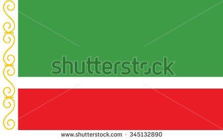Flag Of Chechnya coloring #8, Download drawings