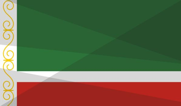 Flag Of Chechnya coloring #9, Download drawings