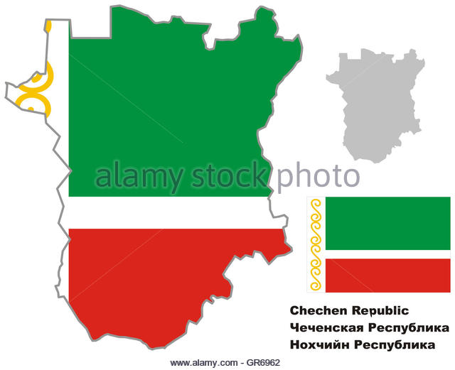 Flag Of Chechnya coloring #10, Download drawings