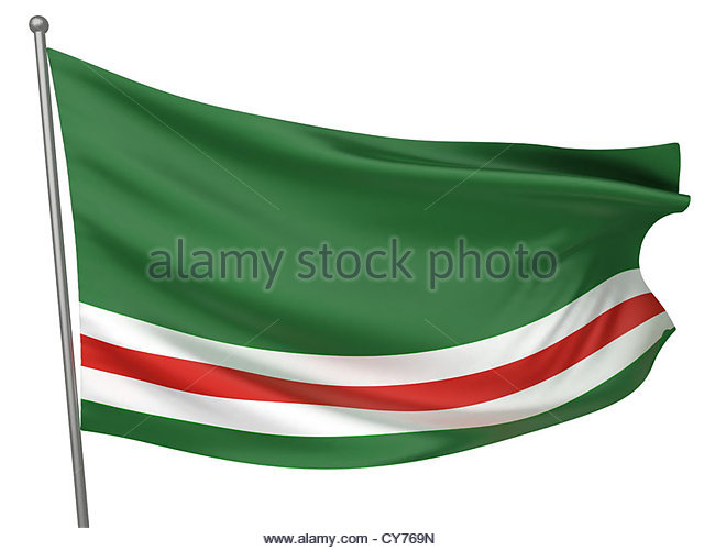 Flag Of Chechnya coloring #12, Download drawings