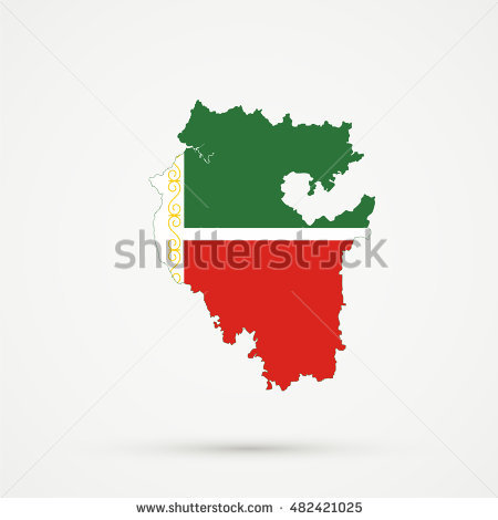 Flag Of Chechnya coloring #14, Download drawings