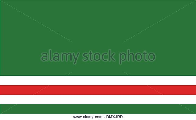 Flag Of Chechnya coloring #1, Download drawings