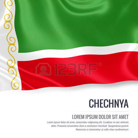 Flag Of Chechnya coloring #2, Download drawings