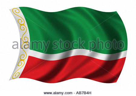 Flag Of Chechnya coloring #5, Download drawings