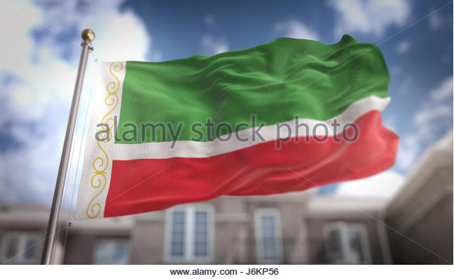 Flag Of Chechnya coloring #6, Download drawings