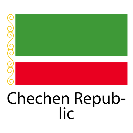 Flag Of Chechnya svg #8, Download drawings