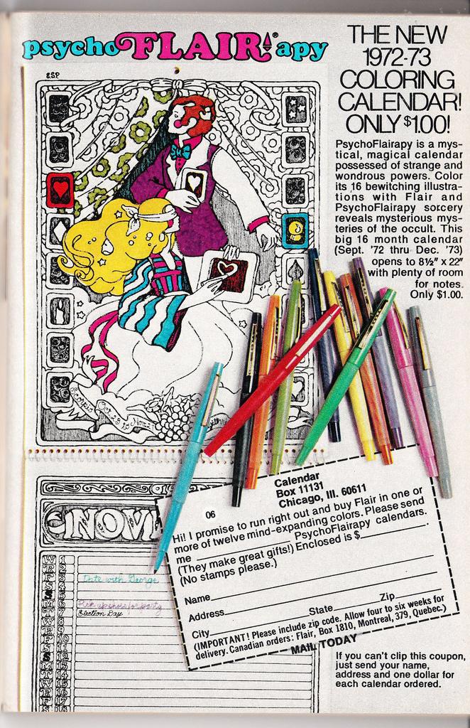 Flair coloring #4, Download drawings