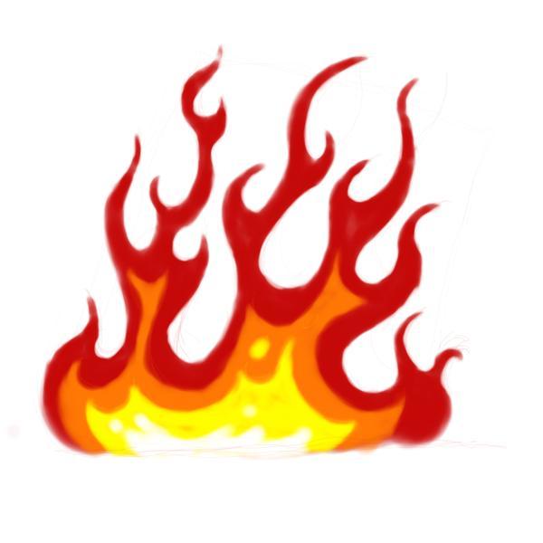 Flames coloring #12, Download drawings