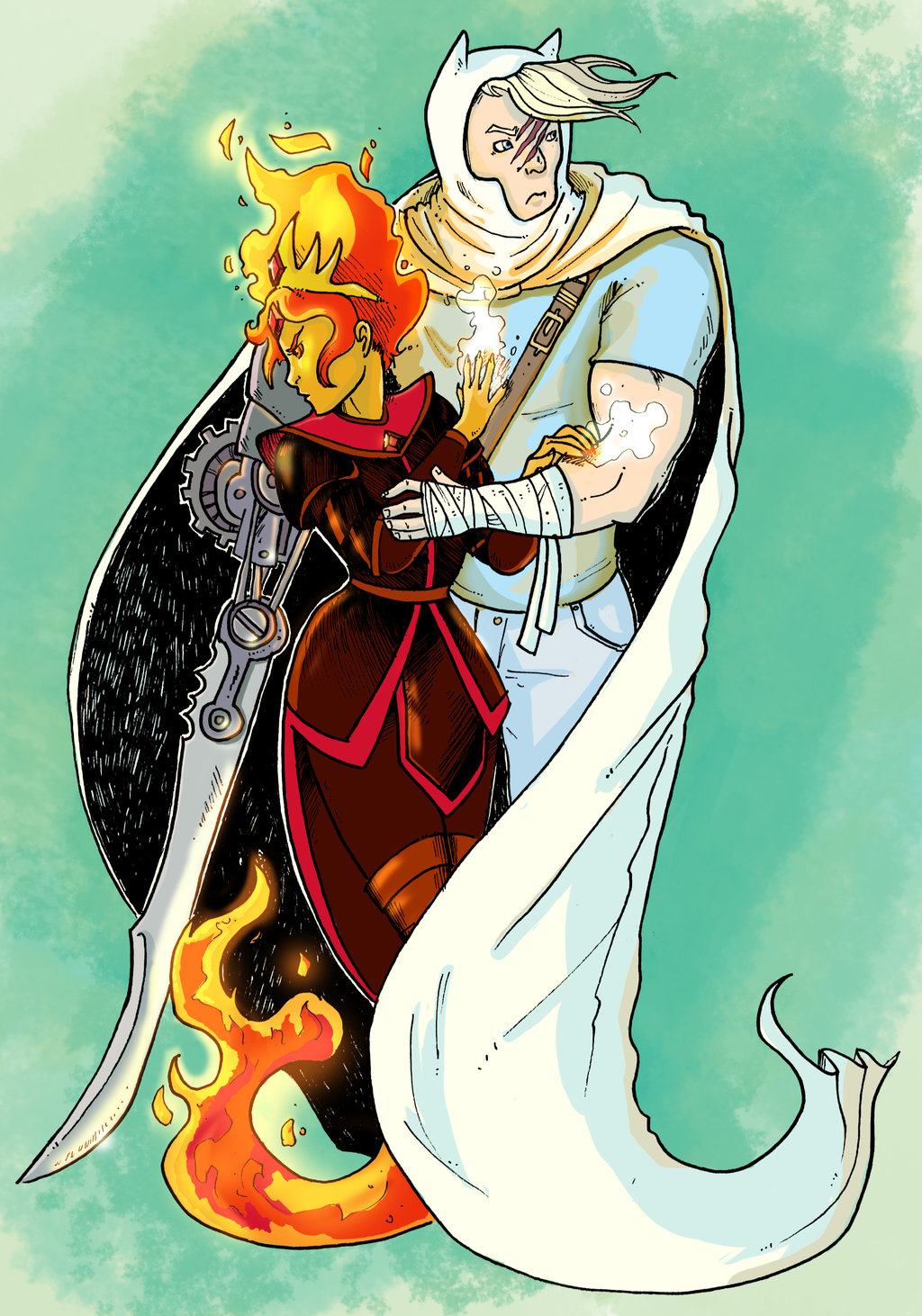 Flame Queen clipart #8, Download drawings