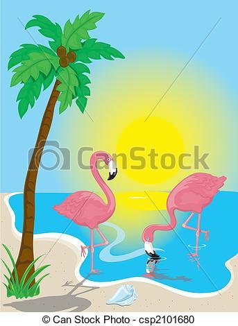 Flamenco Beach clipart #12, Download drawings