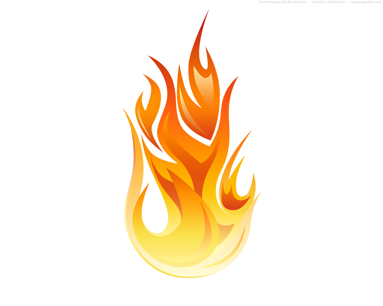 Flames clipart #2, Download drawings