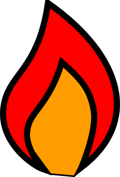 Flames clipart #11, Download drawings