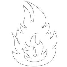 Flames coloring #11, Download drawings