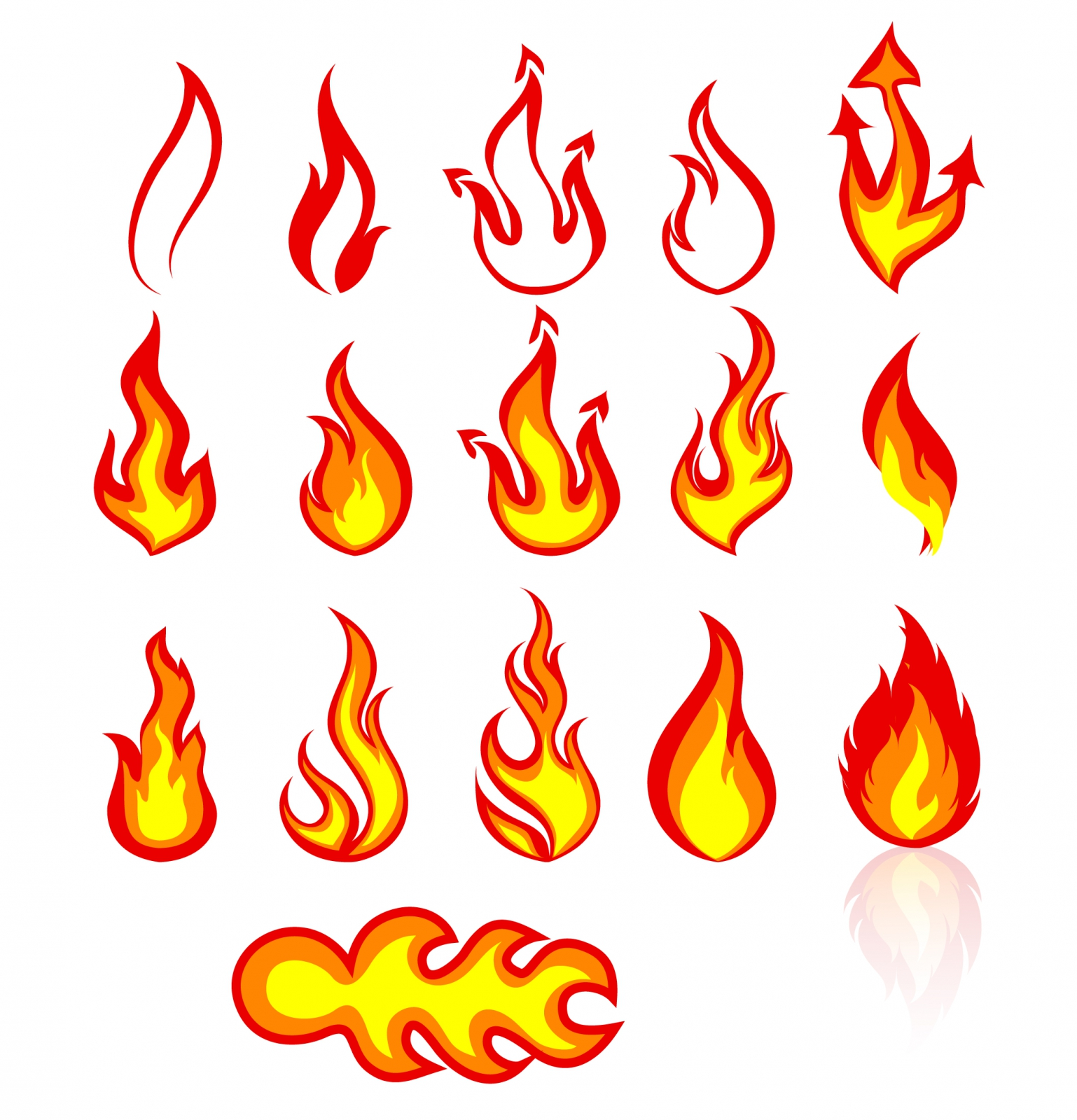 Flames svg #3, Download drawings