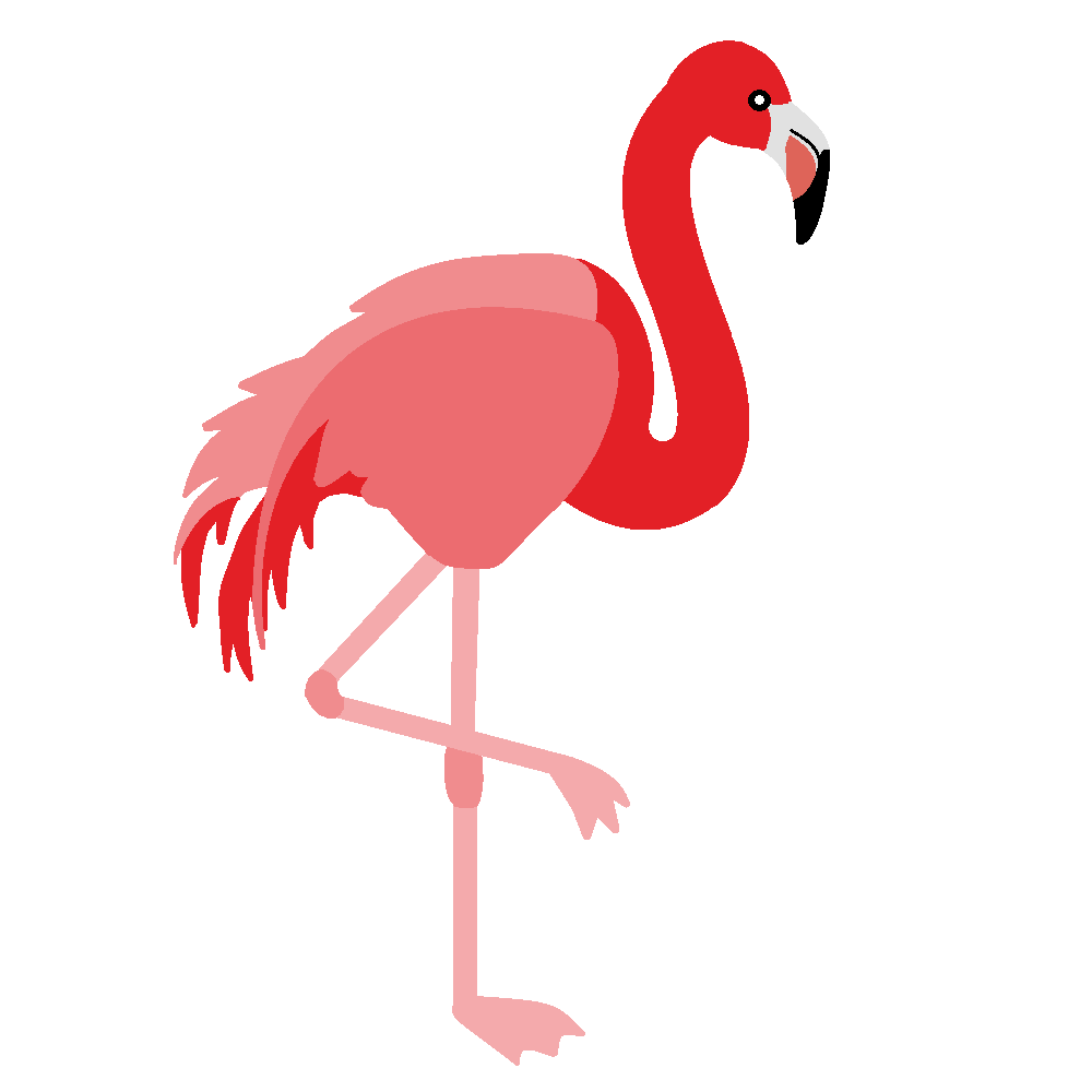 Flamingo clipart #3, Download drawings