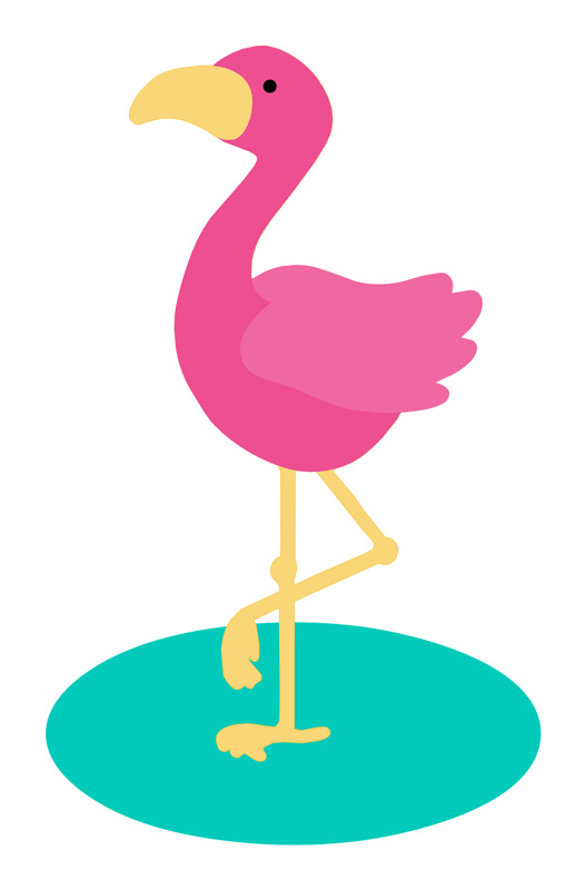 Flamingo svg #4, Download drawings