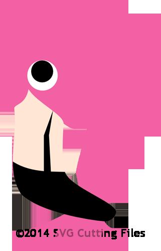 Flamingo svg #9, Download drawings