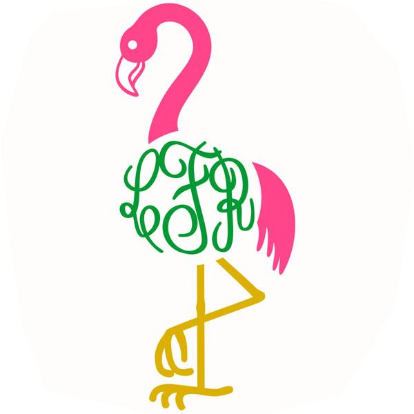 Flamingo svg #10, Download drawings