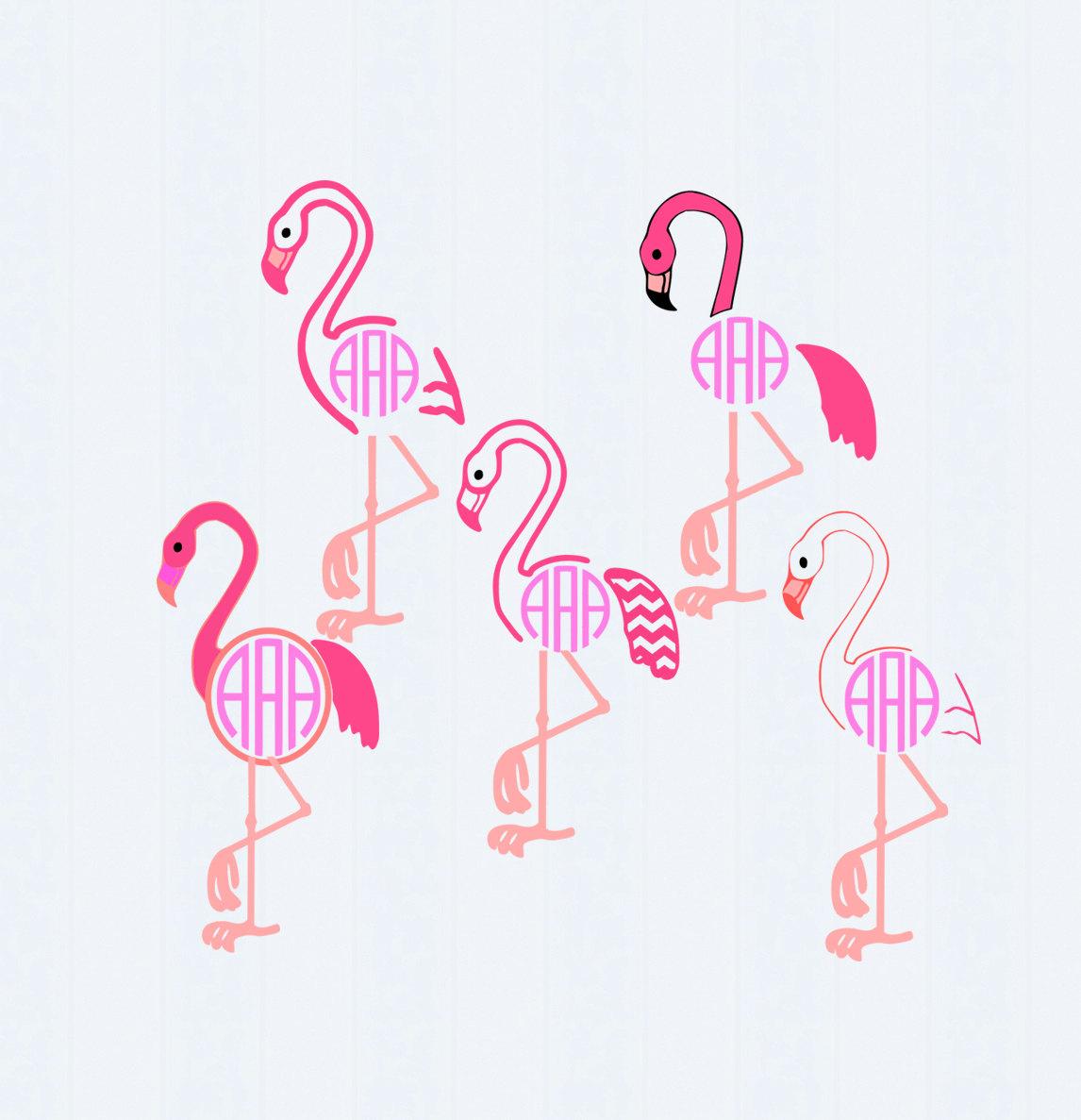 Flamingo svg #1, Download drawings