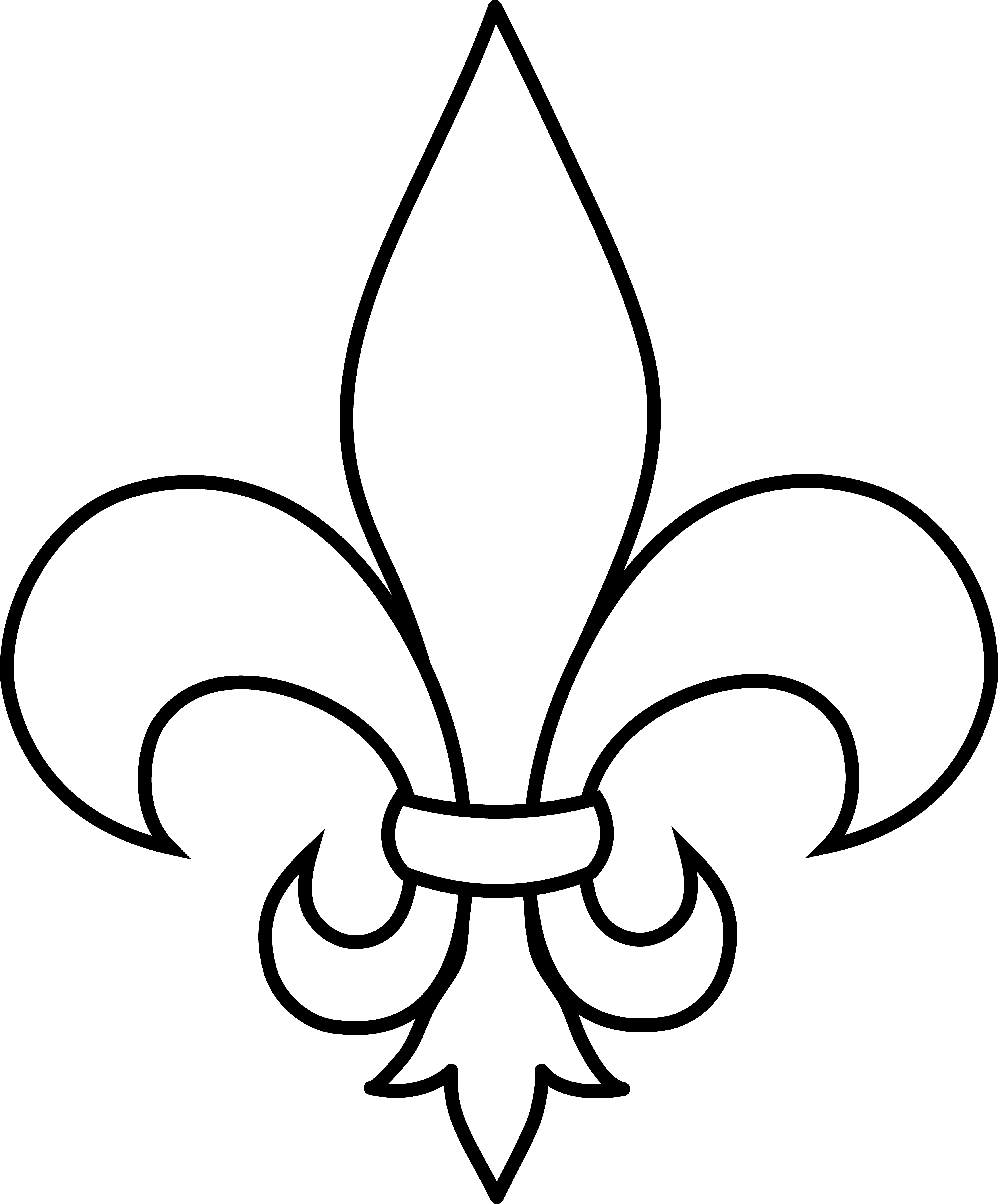 Fleur-de-lis clipart #1, Download drawings