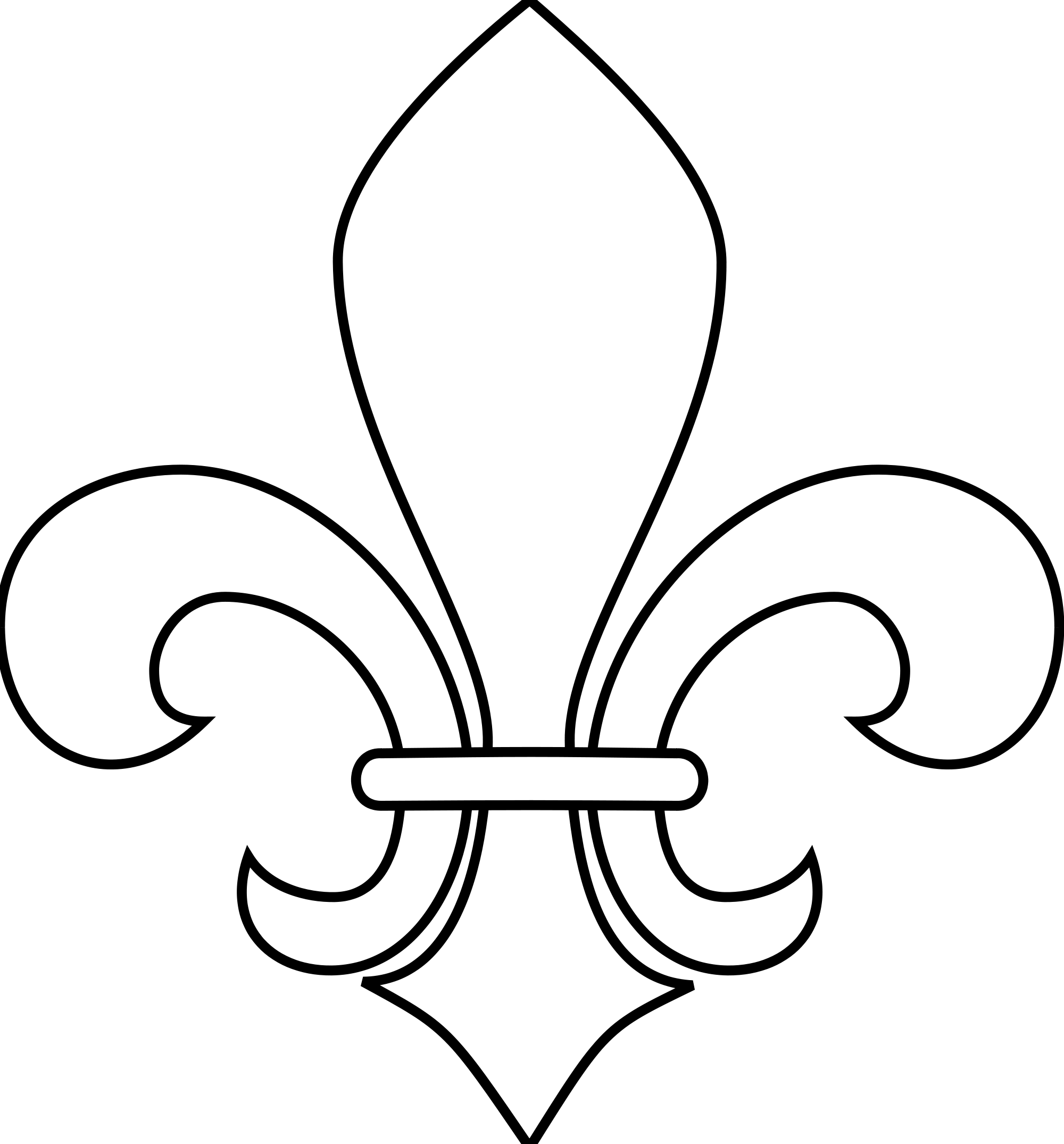 Fleur-de-lis svg #10, Download drawings