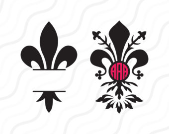 Fleur-de-lis svg #7, Download drawings