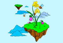 Floating Island coloring #12, Download drawings