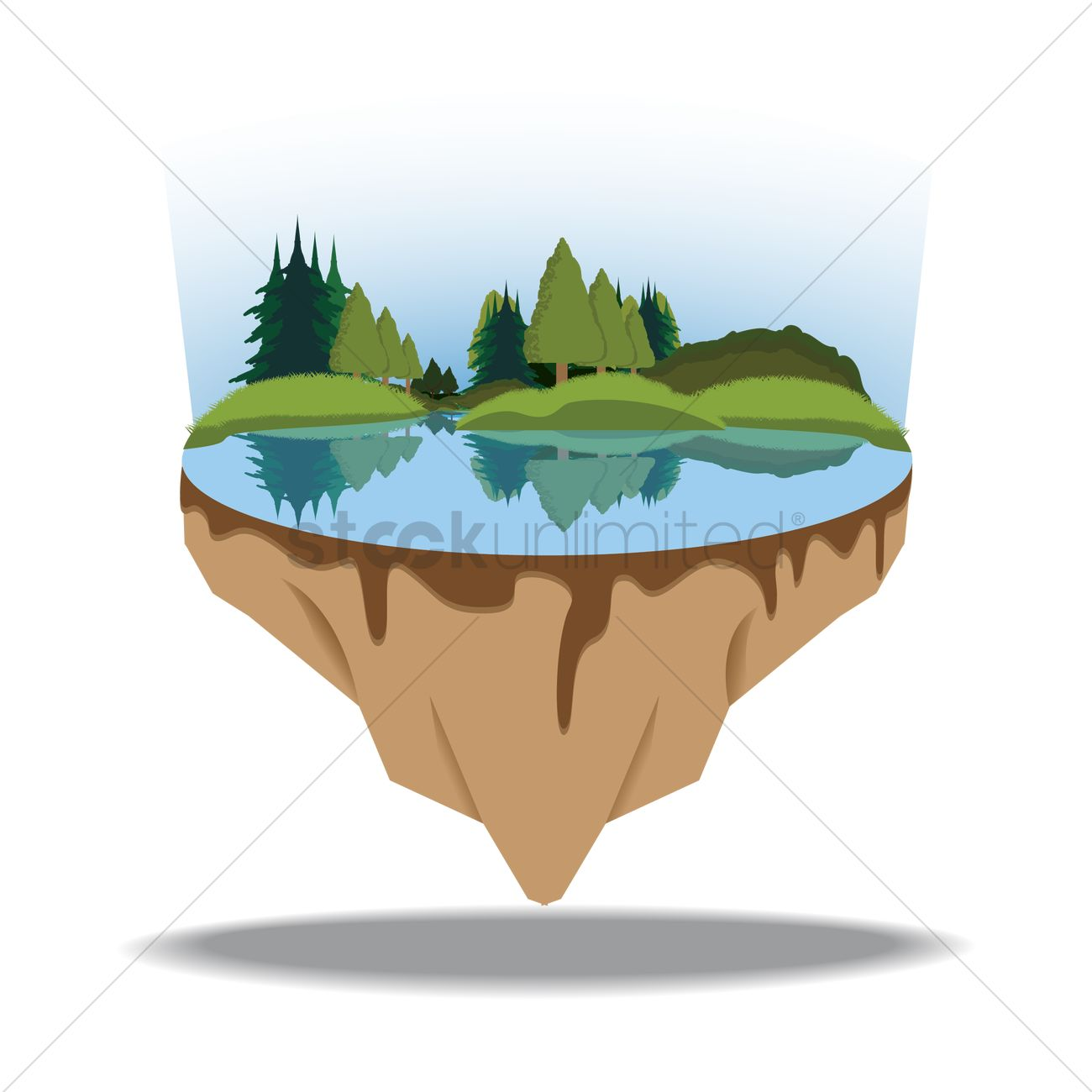 Floating Island svg #15, Download drawings